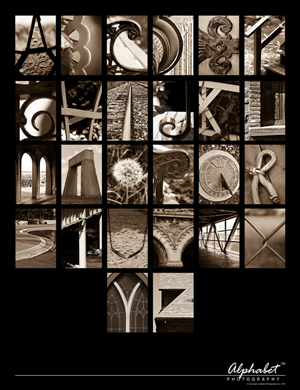 Alphabet Posters, Alphabet® Photography | Letter Art Posters